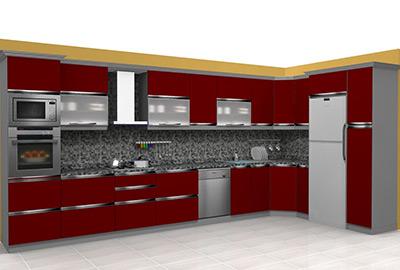 MT014 Mutfak Dolabı